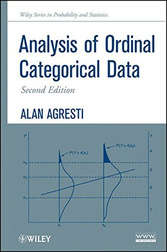Analysis of Ordinal Categorical Data (Wiley Series in Probability and Statistics) by Alan Agresti (2010-05-14)