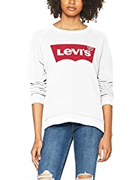 Levi's Relaxed Graphic Crew, Felpa Donna