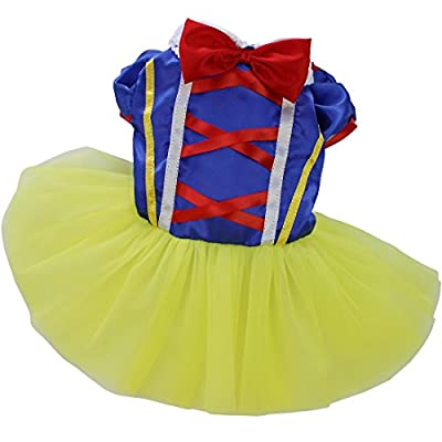 YiZYiF Pet Dog Cat Cartoon Halloween Gift Fancy Dress Costume Outfit Clothes