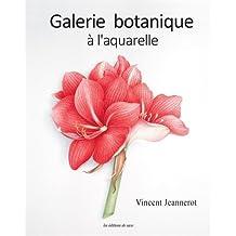 Galerie botanique à l'aquarelle