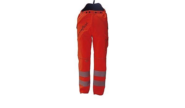 Arbortec breatheflex CLASSE 1 tipo una Motosega Pantaloni Hi Vis Giallo//Arancione