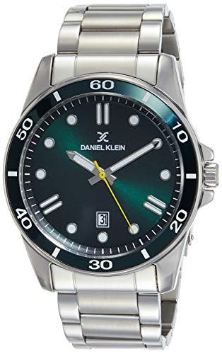Daniel Klein Analog Green Dial Men's Watch-DK11752-7