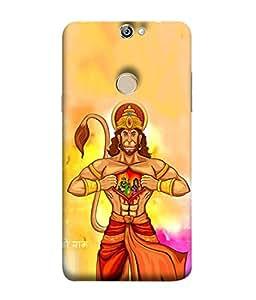 PrintVisa Designer Back Case Cover for Coolpad Max A8 (Graphic Heart Culture Hinduism Mythology Epic Art)
