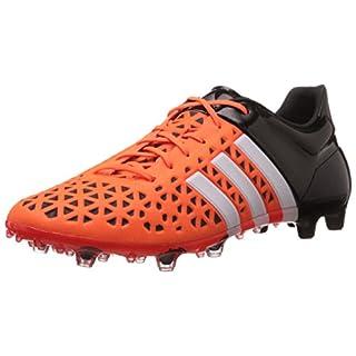 adidas Performance ACE15.1 FG/AG, Herren Fußballschuhe, Orange (Solar Orange/Ftwr White/Core Black), 40 2/3 EU (7 Herren UK)