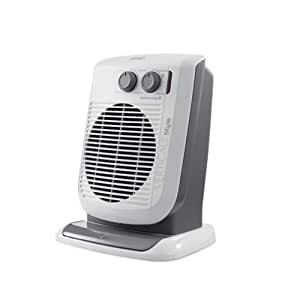 De'Longhi HVF-3533B, Vertical Upright Fan Heater Quiet with Oscillating Base - 3 Kilowatt