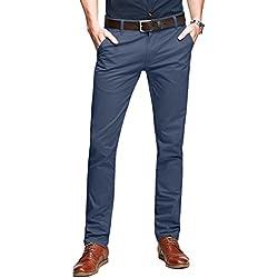 Match 8025 - Pantalón Chino Tapered para Hombre(Azul índigo (Indigo Blue),32W x 31L (ES 42))