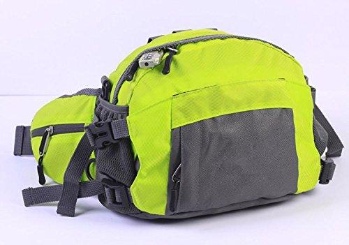 &ZHOU Männer und Frauen Sport Rucksack-Handtasche Großraum-Schultertasche Rucksack Messenger Mode Multifunktionshandtasche Messenger bag fruit green