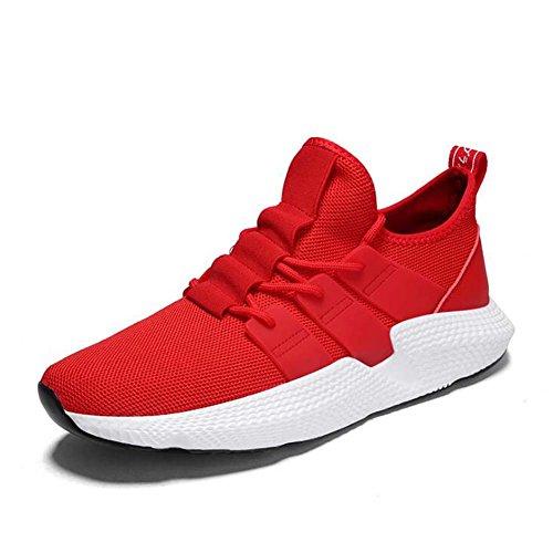 Hommes Sneakers coréenne Tide Athletic Shoes Casual Harajuku Formateurs Printemps Noir Rouge Taille 39-44