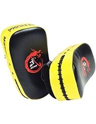 Piense Fuera Del Objetivo Forcus Perforación Del Cojín De Taekwondo Training Gear Amarillo