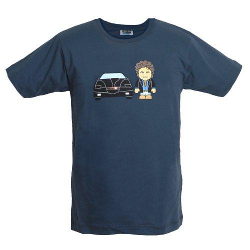 Supercar - Knight Rider - T shirt Toonstar - Maglia con stampa - Girocollo - M