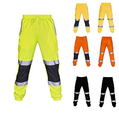 NIUQY Pantaloni da Lavoro Casual Pantaloni da Casual Uomo Sportivi Caviglia Slim Fit Jeans Pantaloni Aggiungi Prezzo Speciale Sconto Autunno e Inverno Poliestere più Cotone