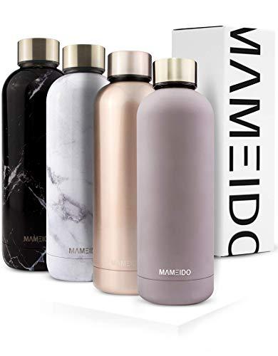 MAMEIDO Trinkflasche 500ml | Rosegold Glänzend