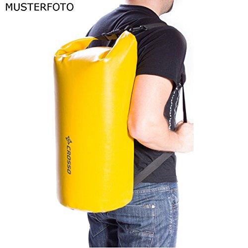 CROSSO CO1016 50L Transportbeutel wasserbeständig Fahrradtasche Gepäcktasche Orange