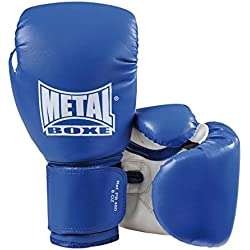 METAL BOXE PB480 Gants de Boxe Bleu 10 oz