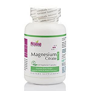 Zenith Nutrition Magnesium Citrate 330mg - 60 Caps