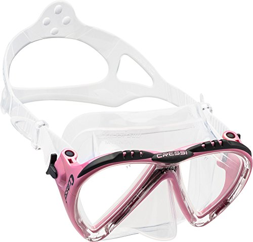 Cressi Tauchmaske Lince Low Volume Made In Italy, rosa, DS311040