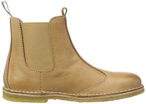 Bisgaard Boot, Bottes Chelsea courtes, doublure froide mixte enfant Marron - Braun (48 Nougat)