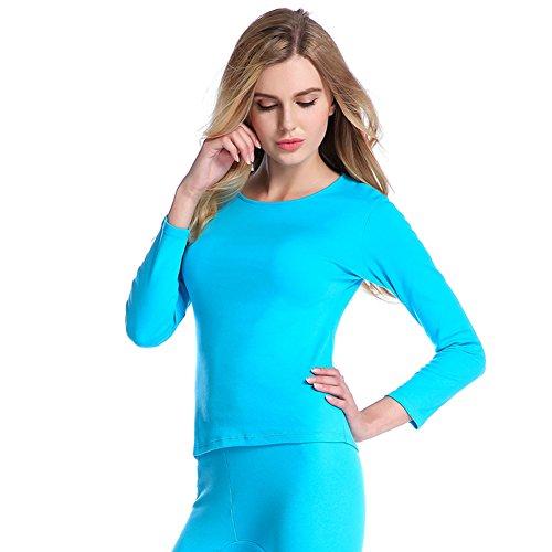 thermal underwear/ abiti femminili/colore solido semplice in autunno e in inverno il comfort supporto Kit/ fall abbigliamento mutandoni completo E