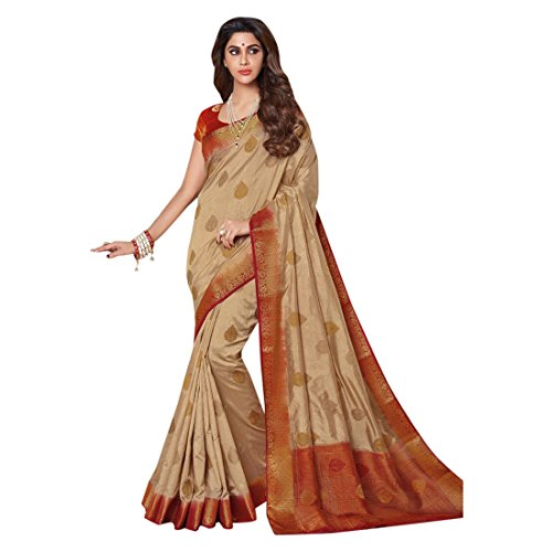 ETHNIC EMPORIUM Bollywood Seide Saree Sari Casual Festival Hochzeit Indische Traditionelle Ethnische Neueste Hochzeit Damen Mädchen Salwar Kameez Kamiz Frauen Kleid Mädchen 2689 Seide Saree