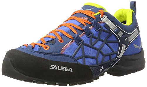 Salewa Herren MS Wildfire Pro Kletterschuhe, Mehrfarbig (Royal Blue/Holland), 46.5 EU