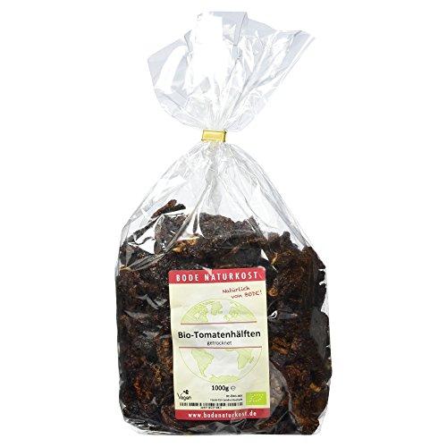 Bode Tomatenhälften getrocknet 1kg Bio Tomatenprodukt, 1er Pack (1x 1 kg)