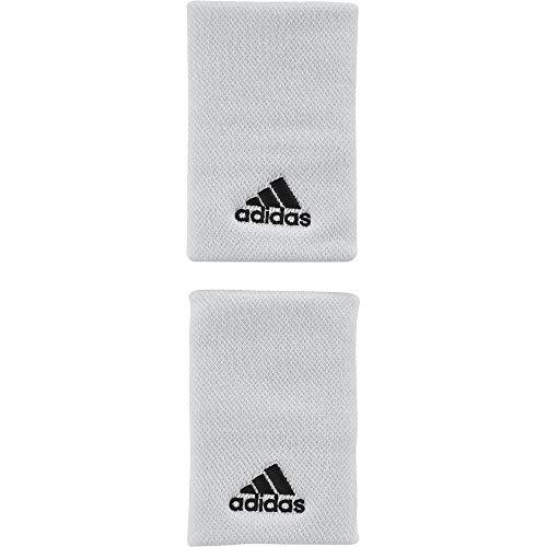 adidas Erwachsene Tennis L Armband, White/Black, - Stirnband Adidas Tennis Herren