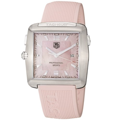 TAG Heuer Damen WAE1114.FT6011 Tiger Woods Professionelle Rubber Sportuhr
