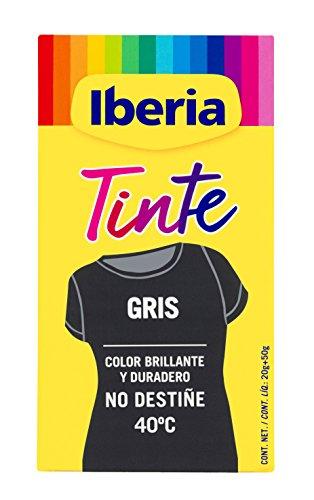 Iberia Tinte Gris para Ropa - 70 gr