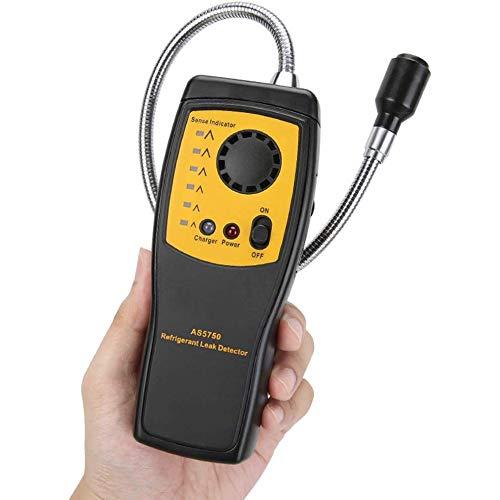 HJJH Gasanalysatoren, Protable LCD-Detektor für brennbare Gasanalysatoren, Lecktester, Soundlight-Alarm, Freon-Gasanalysator, tragbarer Sensor für intelligente Luftqualität -