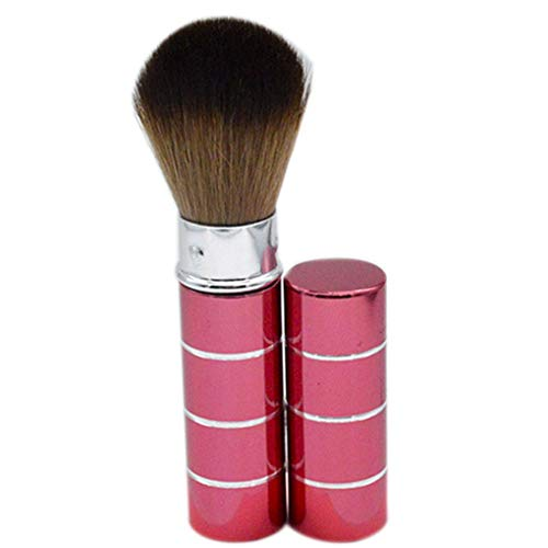 Demino Teleskop Pinsel Metall Multifunktions Blending Powder Foundation Blush Kosmetik Blush Brush...