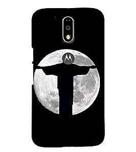 PRINTSHOPPII SUPERHERO LOGO Back Case Cover for Motorola Moto G4 Plus