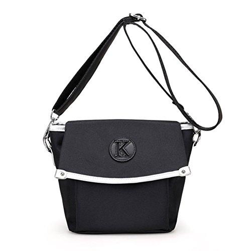 Ladies singola borsa a tracolla,borsa piccola a tracolla,borsa di tela-bianca bianca