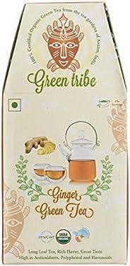 Green Tribe Organic Ginger Green Tea, 100g