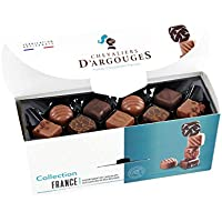 Ballotin cadeau - Assortiment de chocolats noir et lait 350g - Tradition de France - Chevaliers d'Argouges