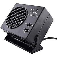 Car Hot Fan - Dewin Calentador de cerámica para calentar el automóvil, parabrisas y desempañador, 300 W 12 V