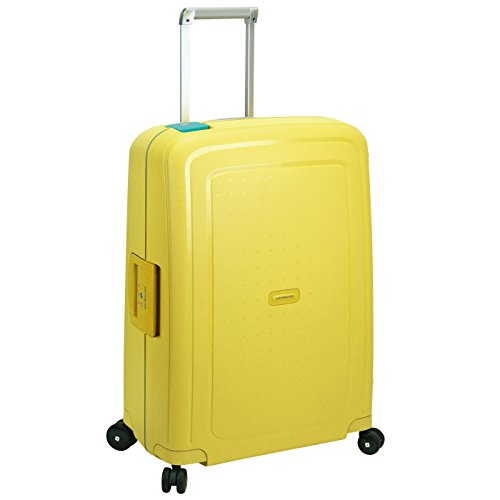 Samsonite S'Cure Spinner Maleta a 4 ruedas 69 cm lemon cielo blue