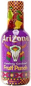 Arizona Pack x 6 Cocktail de Fruits Pet 500 ml