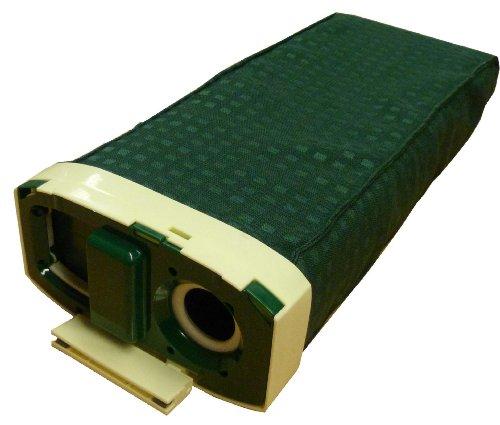 Mister Vac A250 - Cartucho colector de polvo con soporte para bolsas compatible con Vorwerk Kobold VK 120