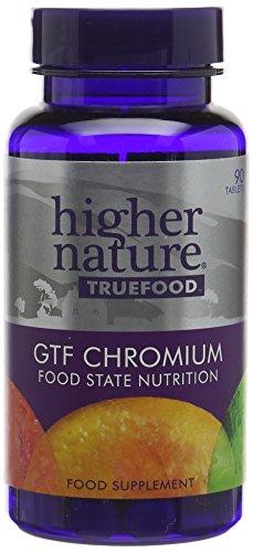 Higher Nature True Food GTF Chromium Pack of 90