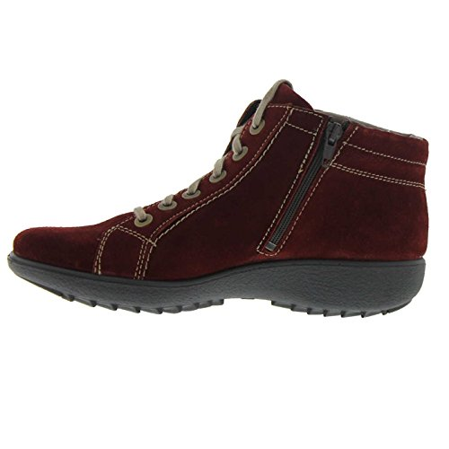 Romika Womens Nadja 136 Suede Boots Red