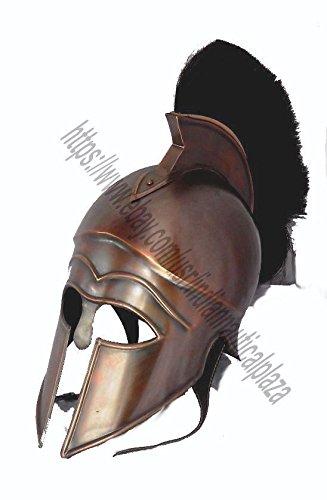 Antike Ende Rüstung Griechische KORINTHER MITTELALTERLICHER Helm Mittelalterliches Römisches...