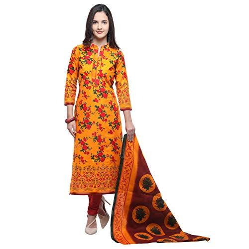 Vaamsi Women\'s Dress Material (Deep1053N_Multicoloured_One Size)