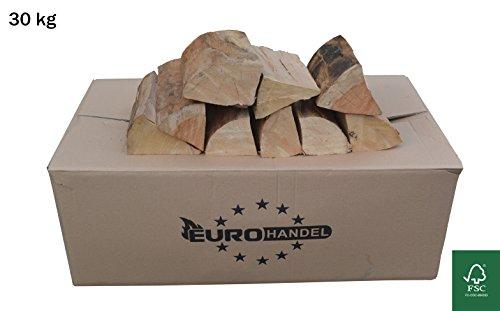 30kg Brennholz Buche Kaminholz ofenfertig bis 25 cm