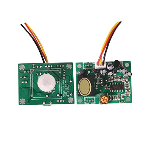 Demarkt TDL-788 12V Automatiktüren infrarot Induktion Schalter 2 Sekunden Verzögerung verstellbar Korridor infrarot Induktion Modul - Tdl-modul