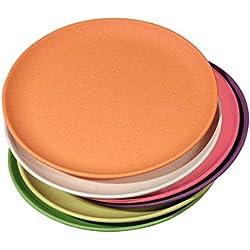 Zuperzozial lot de 6 assiettes rainbow by Capventure
