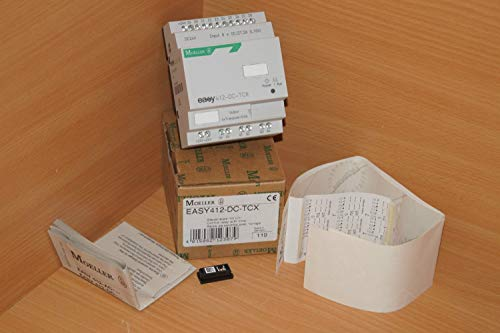 Klöckner Moeller EASY412-DC-TCX Steuerrelais mit Uhr EASY 412-DC-TCX -