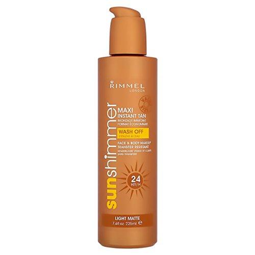 Sun Shimmer by Rimmel London Maxi Instant Tan Light Matte 225ml by Rimmel