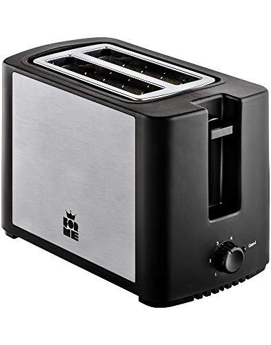 ForMe Grille pain Toaster 2 fentes 750W Grille-pains I 4 Niveaux I Annuler la fonction I Plateau à miettes amovible