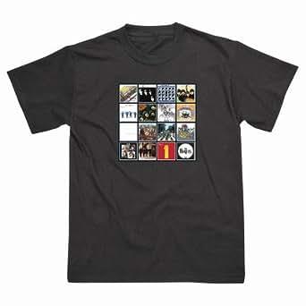 Album Covers T/Shirt-Black-L