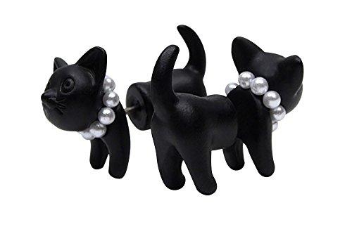 purposefull-black-cat-2-piece-stud-earrings